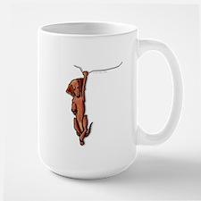 Dangling Dachsie Large Mug