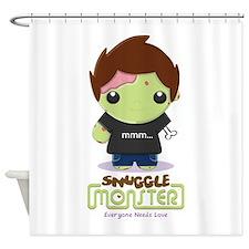 Cute Zombie Shower Curtain