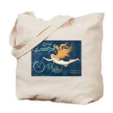 Cycles Gladiator, Bicycle, Vintage Poster Tote Bag