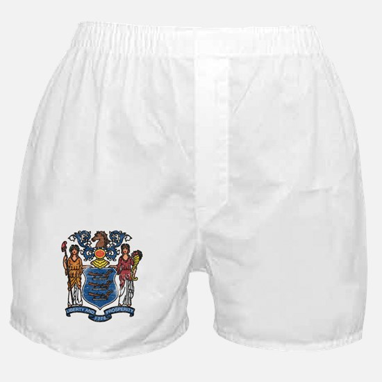 New Jersey State Flag Boxer Shorts