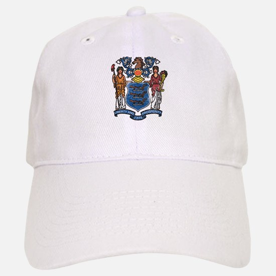 New Jersey State Flag Baseball Cap