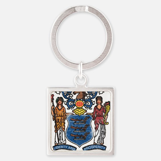 New Jersey State Flag Keychains