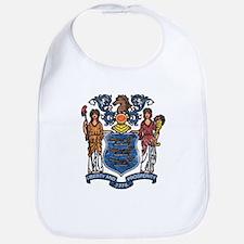 New Jersey State Flag Bib
