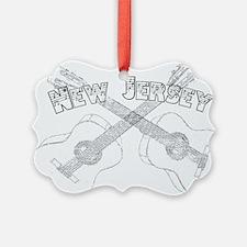 New Jersey Guitars Ornament