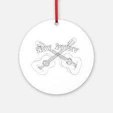 New Jersey Guitars Ornament (Round)