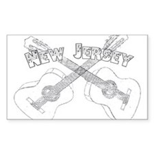 New Jersey Guitars Decal