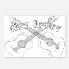 New Jersey Guitars Postcards (Package of 8)