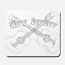 New Jersey Guitars Mousepad