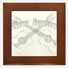 New Jersey Guitars Framed Tile
