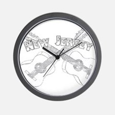 New Jersey Guitars Wall Clock
