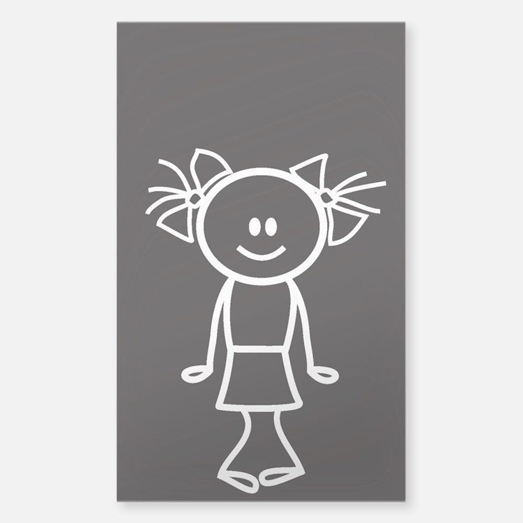 Daughter - white Decal
