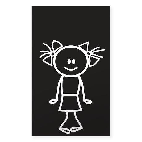 Daughter - white Sticker