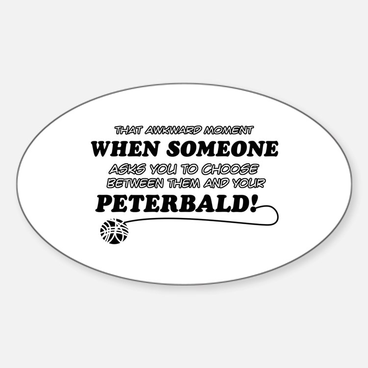 Funny Peterbald designs Decal