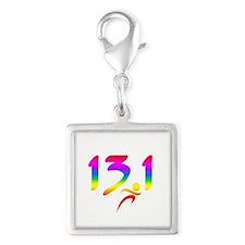 Rainbow 13.1 half-marathon Charms
