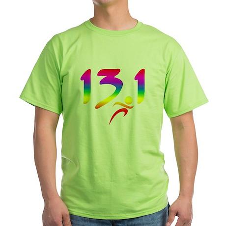 Rainbow 13.1 half-marathon T-Shirt