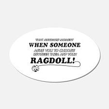 Funny Ragdoll designs Wall Decal