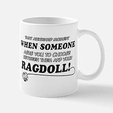 Funny Ragdoll designs Mug