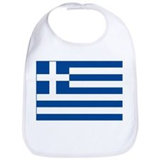 Greek Flag Bib