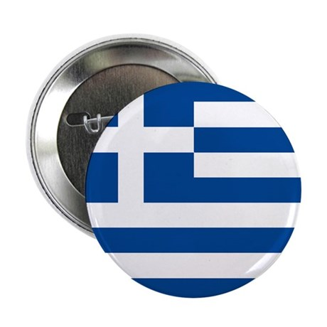"Greek Flag 2.25"" Button (10 pack)"