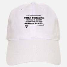 Funny Russian Blue designs Baseball Baseball Cap
