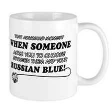 Funny Russian Blue designs Mug