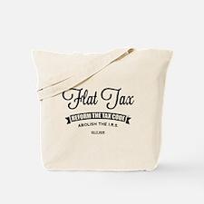 Flat Tax Tote Bag