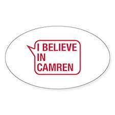 I Believe In Camren Decal