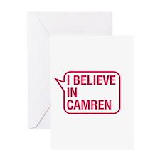 I Believe In Camren Greeting Card