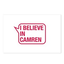 I Believe In Camren Postcards (Package of 8)