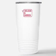 I Believe In Camren Travel Mug