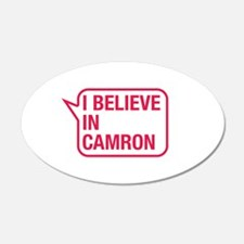 I Believe In Camron Wall Decal