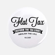 "Flat Tax 3.5"" Button"