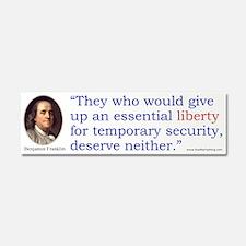 Franklin Essential Liberty Car Magnet 10 x 3