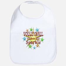 Volleyball Sparkles Bib