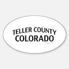 Teller County Colorado Decal