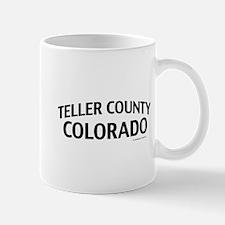 Teller County Colorado Mug