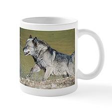 """""""Huge Black Wolf"""" Mug"""