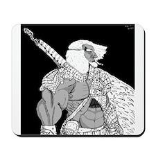 Brave Swordsmen Mousepad