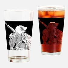 Brave Swordsmen Drinking Glass