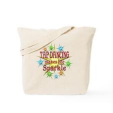 Tap Dancing Sparkles Tote Bag