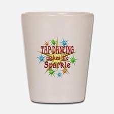 Tap Dancing Sparkles Shot Glass