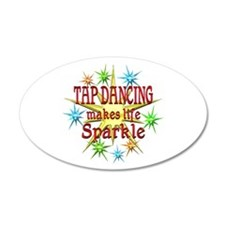 Tap Dancing Sparkles Wall Decal