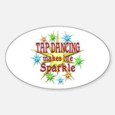 Tap Dancing Sparkles Decal