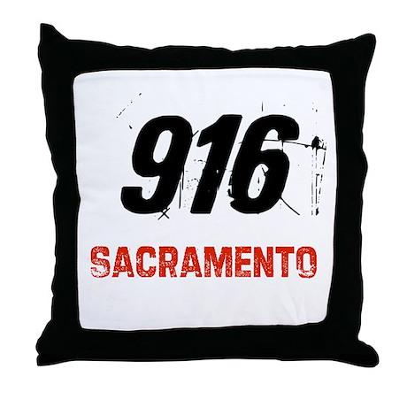 916 Throw Pillow