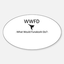What Would Funakoshi Do? Decal
