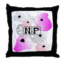 Nurse Practitioner Pillow Throw Pillow