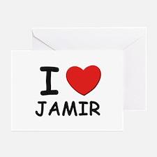 I love Jamir Greeting Cards (Pk of 10)