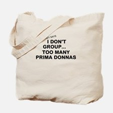 Unique Prima donna Tote Bag