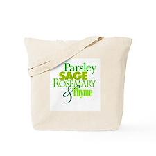 Parsley, Sage, Rosemary & Thyme Tote Bag