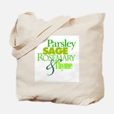 Parsley, Sage, Rosemary & Thyme Tote Bag